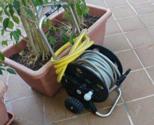 Gartenschlauch Bewässerung Schlauchwagen