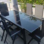 Ausziehbarer Gartentisch von Lidl Gartenmoebel