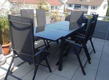 review bewertung der gartenm bel von lidl florabest. Black Bedroom Furniture Sets. Home Design Ideas