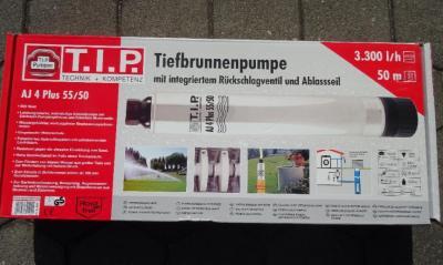 T.I.P. Tiefbrunnenpumpe Testsieger