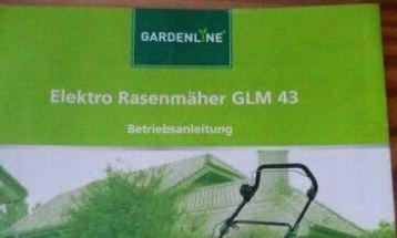 gardenline elektro rasenmäher