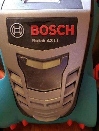 Bosch Rotak 43 LI test