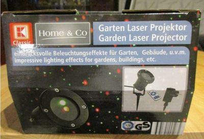 Garten-Laser Test